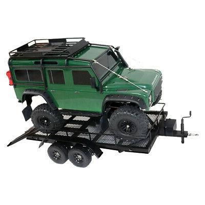 Trailer Car Heavy-Duty Carrier Metal for 1:10 USA