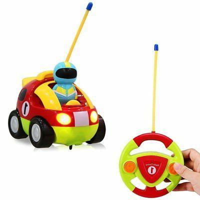 Rabing RC Cartoon Race Car with Action Figure Radio Control