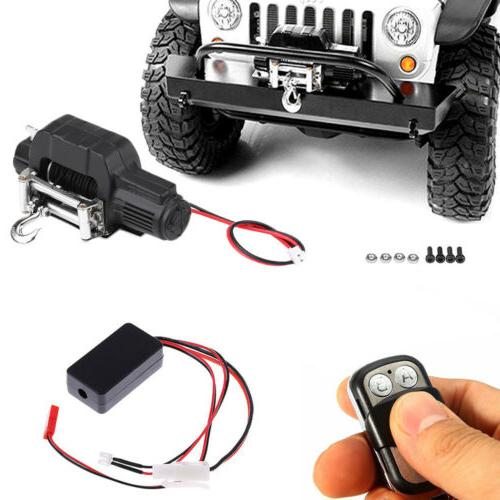 RC Crawler Car Winch Wireless Remote Control Receiver For 1: