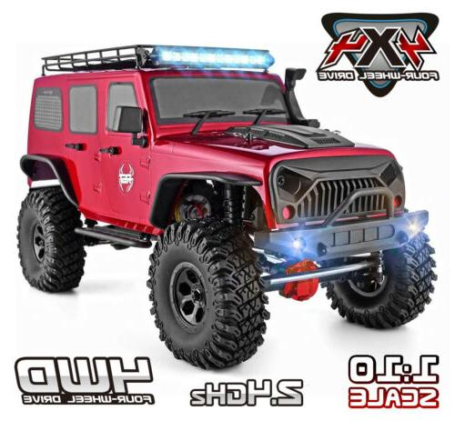 RGT RC Crawlers 1/10 Scale 4wd Off Road Monster Truck RTR RC