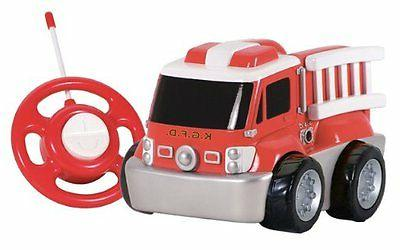 Kid Galaxy RC GoGo Fire Truck Remote Control RC Car
