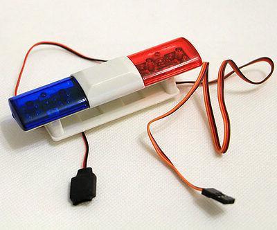 RC Model Car Police Night Flash Bright LED Light 360 Degree