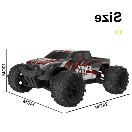 DEERC Car 1:18 4WD 2.4Ghz Off-road Remote Control Car USA