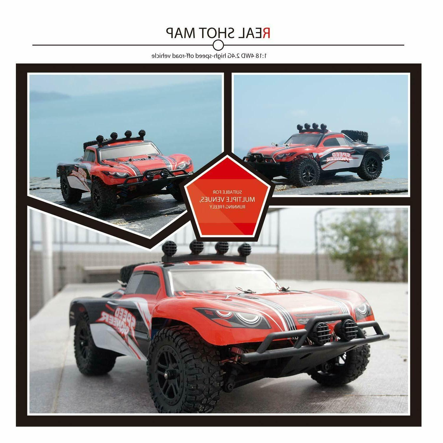 RC Remote Off Road Truck 2.4G 4WD