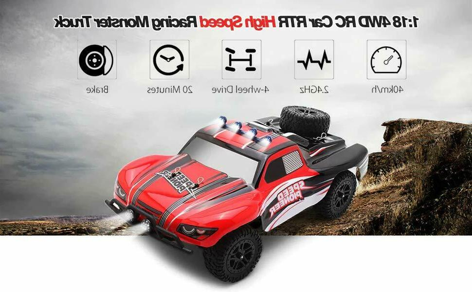 RC Remote Off 2.4G 4WD 40+KM/H Speed