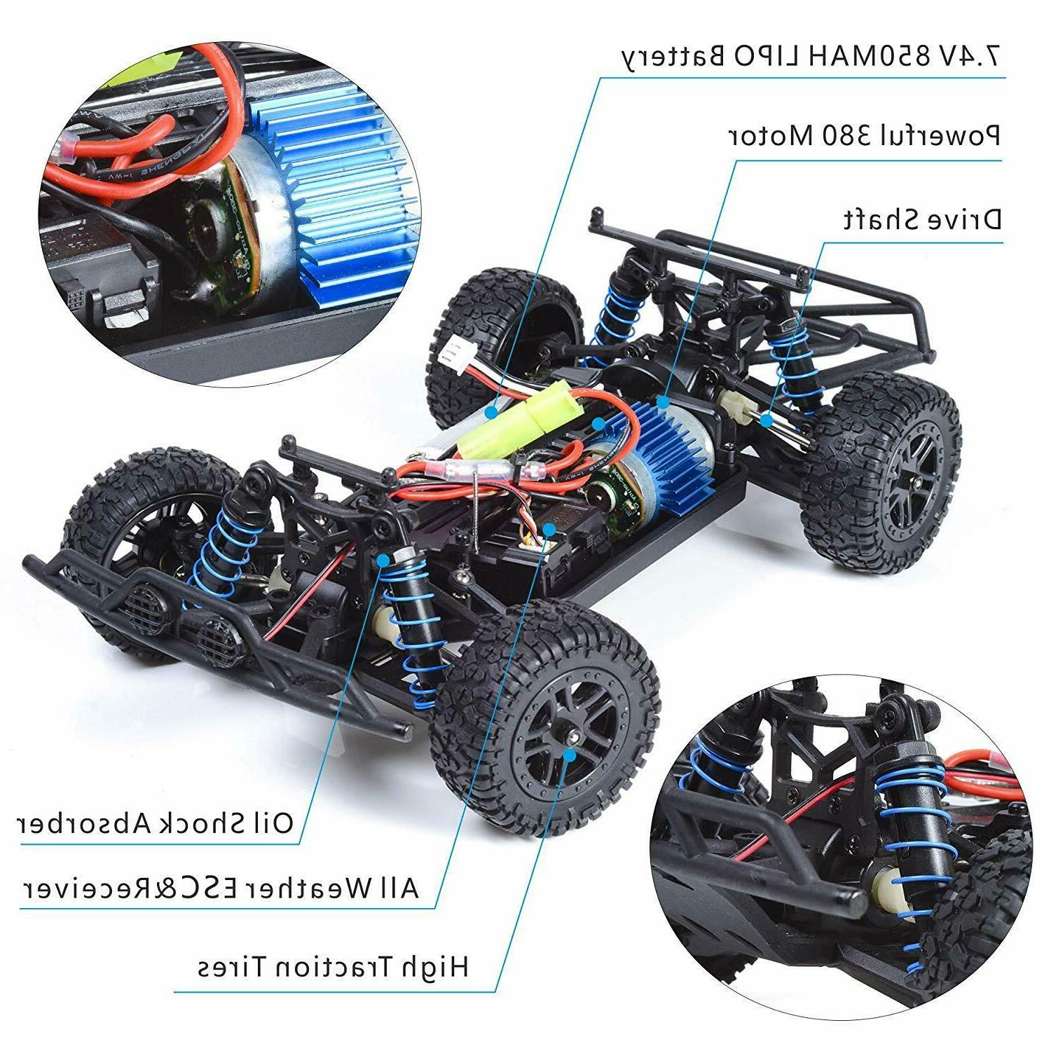RC Control Off Vehicle Truck 2.4G 4WD