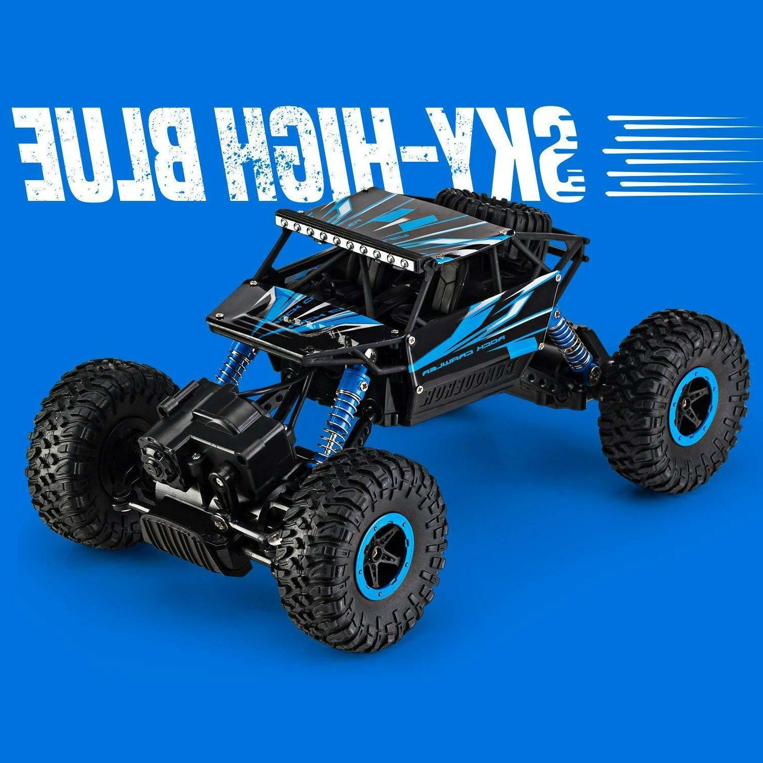 4WD Monster 1/18 Crawler Vehicle 2.4Ghz Remote Control Car
