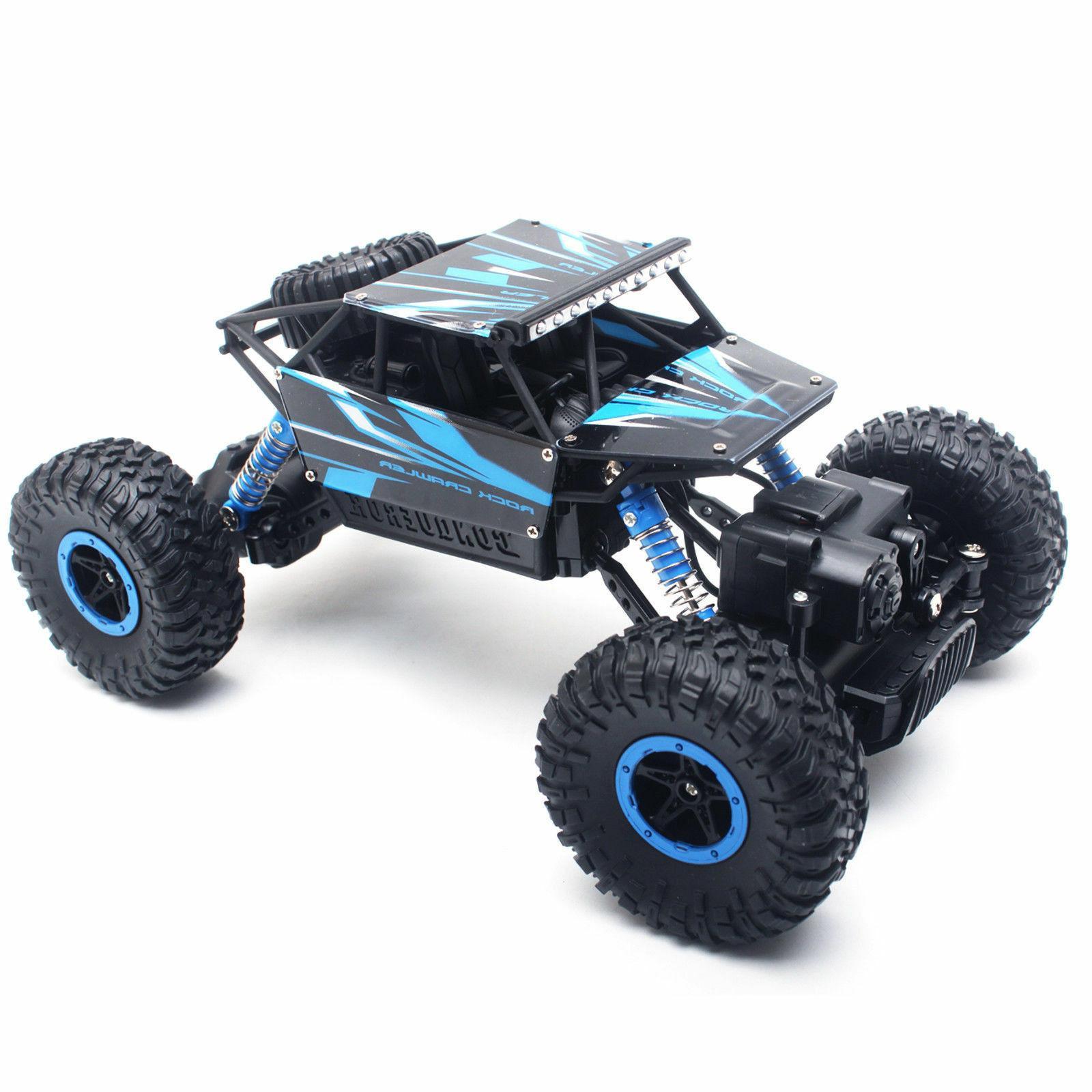 4WD 1/18 Crawler Car Vehicle 2.4Ghz Remote Car