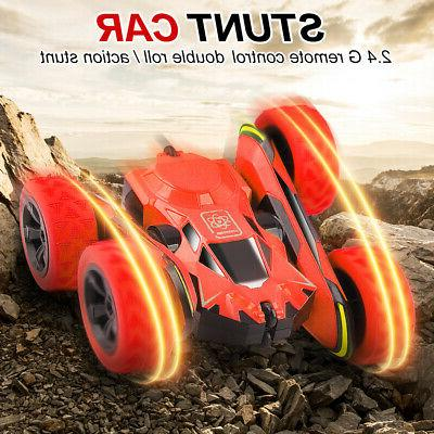 Remote Control Car 360° Rotate Stunt Car RC Car 4WD High Sp
