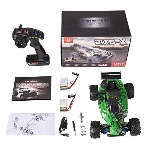 Distianert Truck Scale 4WD Car Kids Adults, Off-Road R/C 45km/H