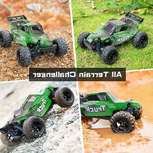 Distianert Scale Flexible Car Adults, Controlled Off-Road Electronic Monster R/C Grade 45km/H