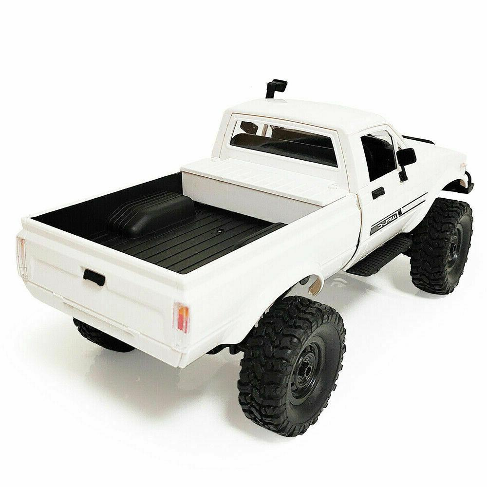 WPL 1/16 4x4 4WD Scale Crawler Pickup Road RTR US Seller