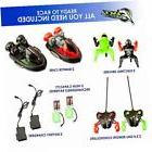 2 pack remote control bumper cars – two player stunt rc to