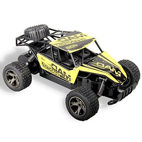 Rc Car,GMAXT Scale Remote Car,18km/h Radio Racing,Turbo and Batterie