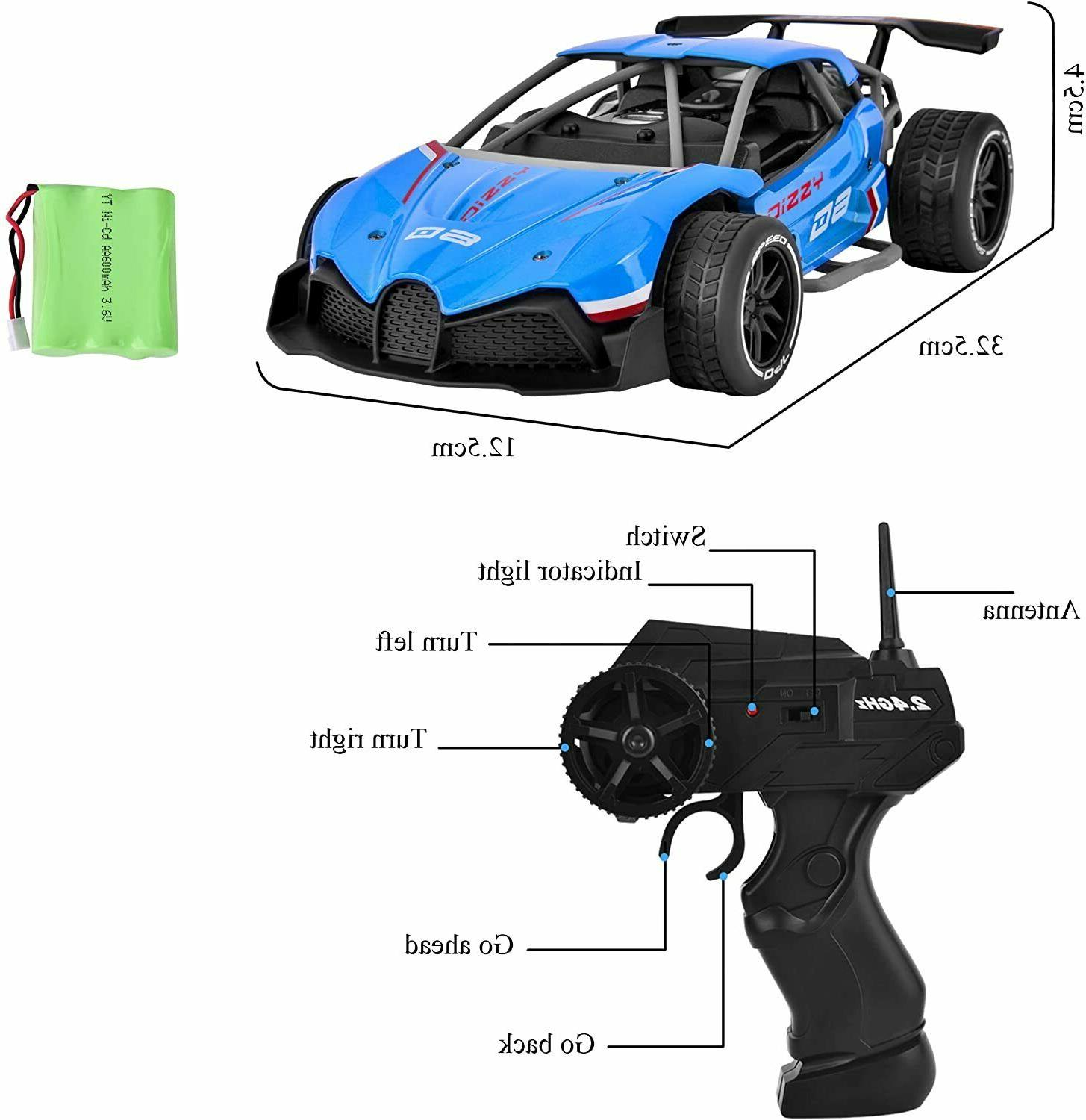 Remote Speed RC Race Toys 2WD Racing Vehicles