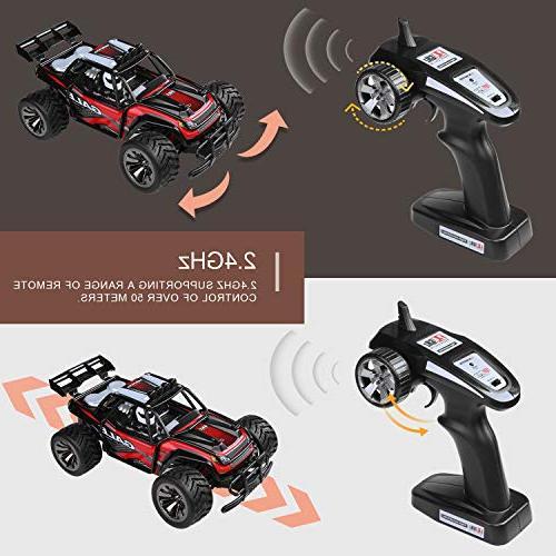Remote Control Car Buggy - 2 WD 2.4Ghz Truck 1:16 RC Car 2 Bag