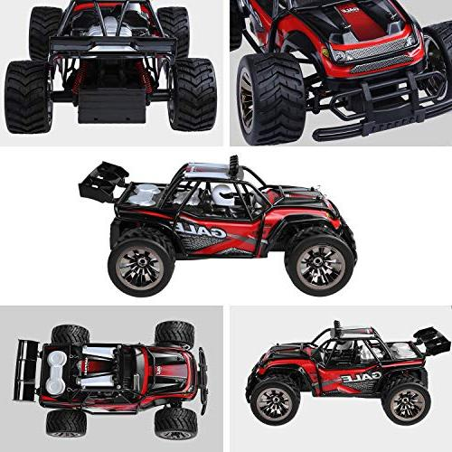 Remote Control Buggy 2.4Ghz 1:16 RC with 2 Rechargeable Battery &Storage Bag