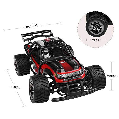 Remote Control Car Buggy 2.4Ghz Off-Road 1:16 with 2 Rechargeable Bag