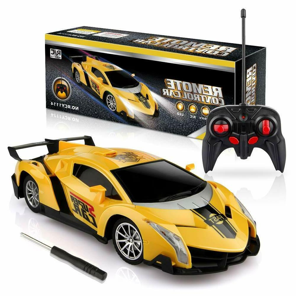 Growsland Remote Control Car, RC Cars Xmas Gifts for Kids 1/