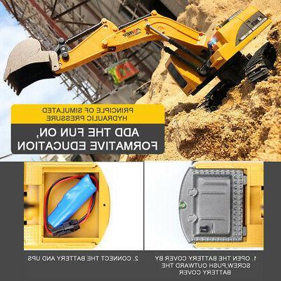 Remote Control Construction Digger