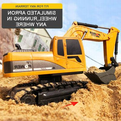 Remote RC Construction Tractor Digger
