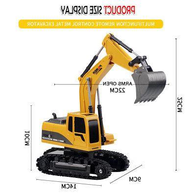 Remote Construction Tractor Digger Car D3J1