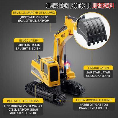 Remote RC Construction Vehicle Truck Digger D3J1