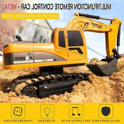 remote control excavator rc construction tractor vehicle
