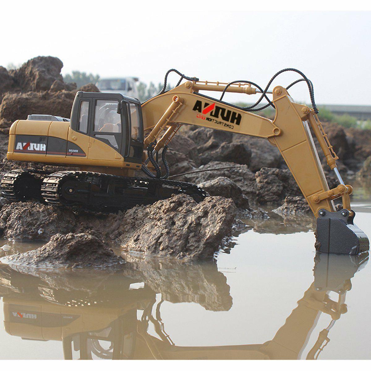 remote control excavator rc tractor