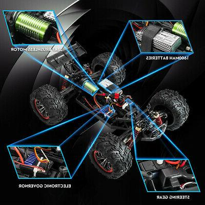 Remote RC Brushless 62km/h 40+ MPH Off-Road