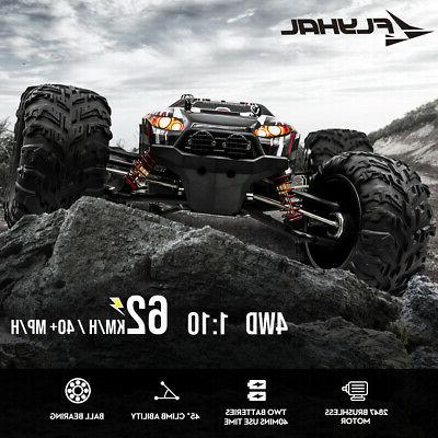 Remote RC Car Brushless 62km/h MPH Off-Road
