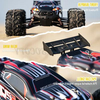 Remote Control Car Brushless Electric MPH Scale 4WD Off-Road