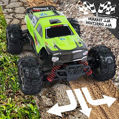 SGILE Remote Control RC Car, 40 High Speed Car for Boys Girls 2.4Ghz Race Buggy Crawler Vehicle