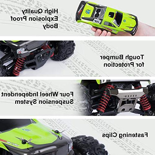 SGILE Remote Control RC Speed for Girls 2.4Ghz Race Buggy Electric Vehicle Car,Green
