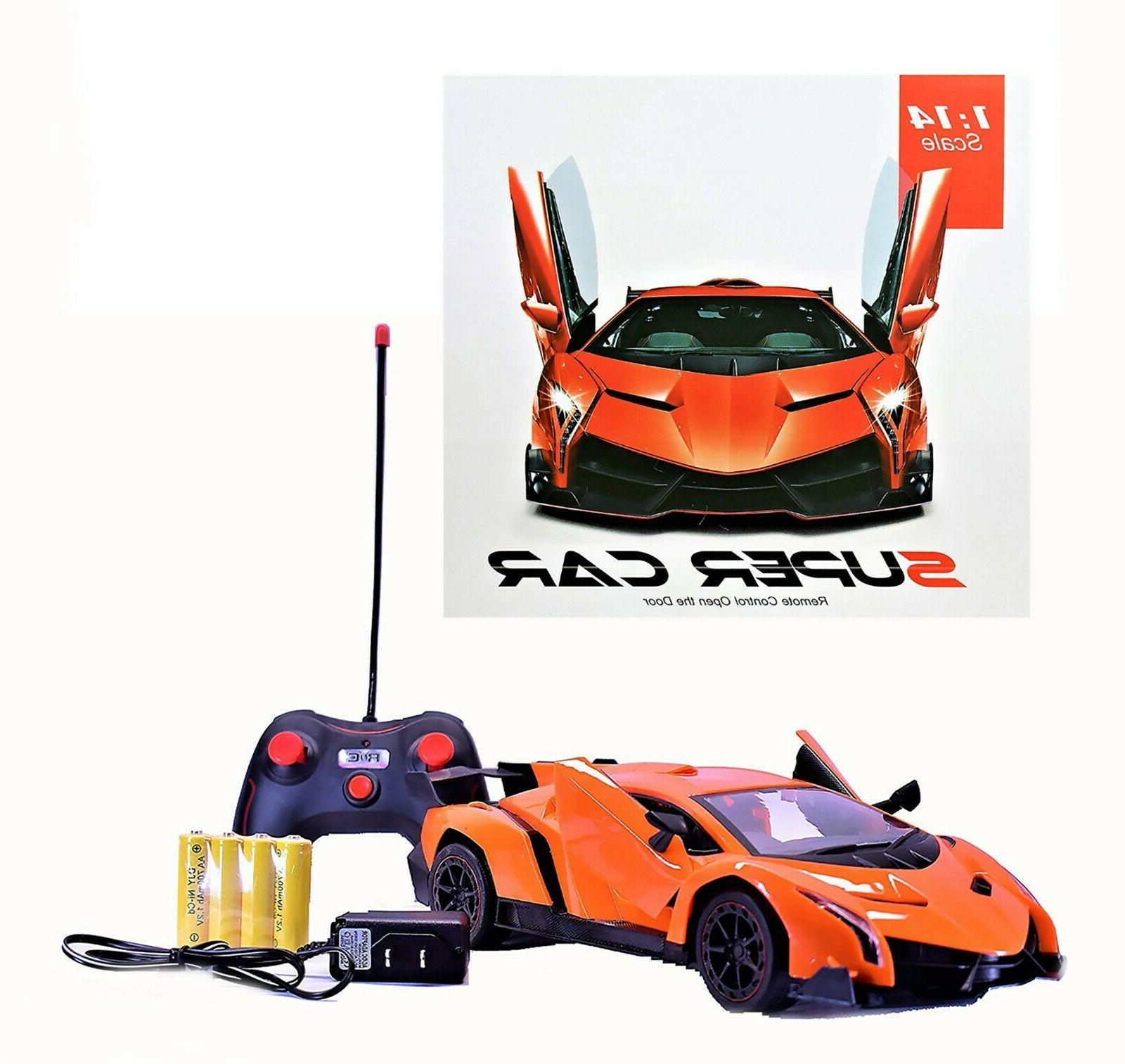remote control toy car battery operated lamborghini