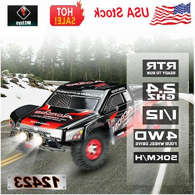 Wltoys 12423 Original 1/12 2.4G 4WD Short Course RC Car 50km