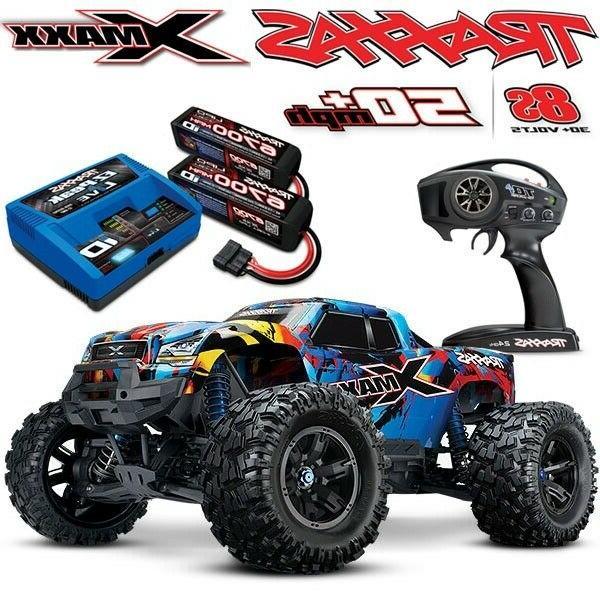 NEW Traxxas X-MAXX 8S 4WD Brushless RTR Truck RNR w/6700MAH