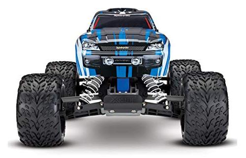 Traxxas Stampede 1/10 Monster Truck with TQ 2.4GHz Radio, Scale