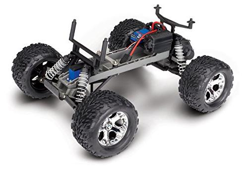 Traxxas Stampede 2WD Monster Truck with 2.4GHz Blue, Scale