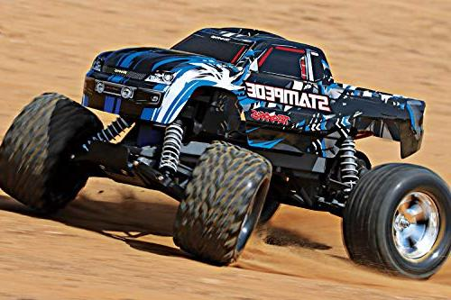 Traxxas Monster Truck TQ 2.4GHz Radio, Blue, Scale