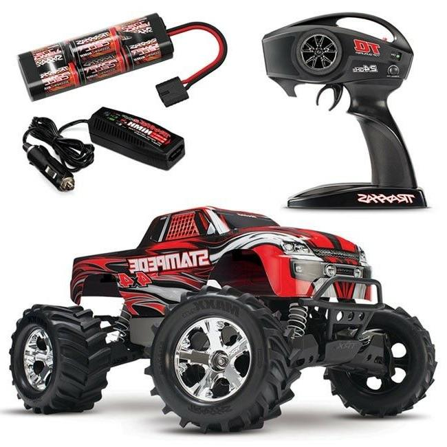 TRAXXAS 67054-1 Stampede 4X4: 1/10 Scale Monster Truck Ready