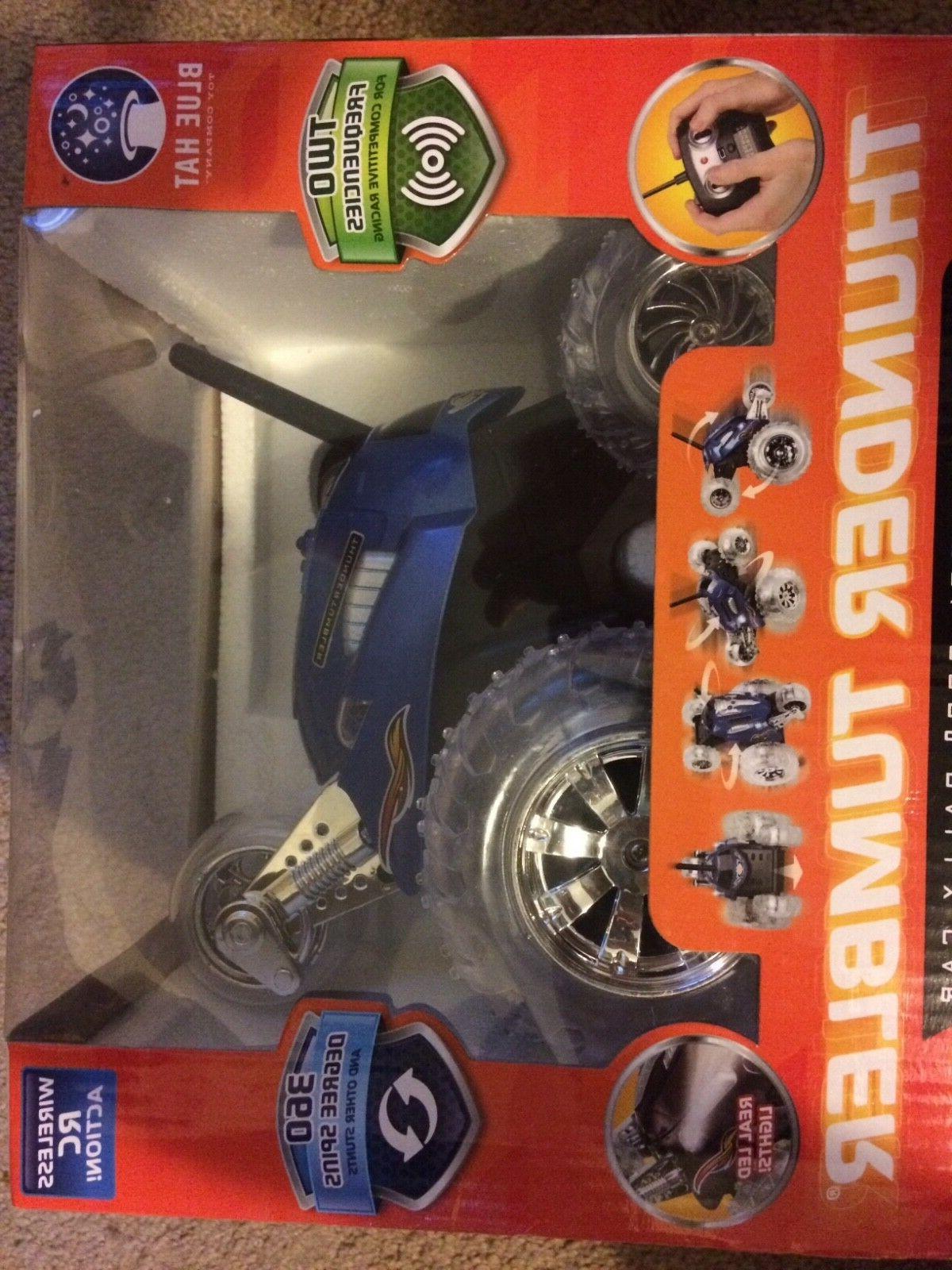 thunder tumbler blue radio control 360 rally