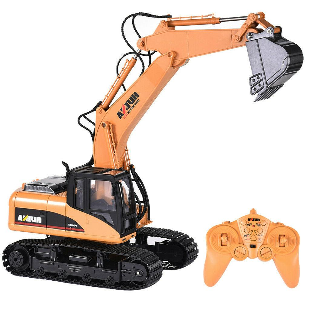 HuiNa Toys 2.4G 15CH Alloy Engineering US