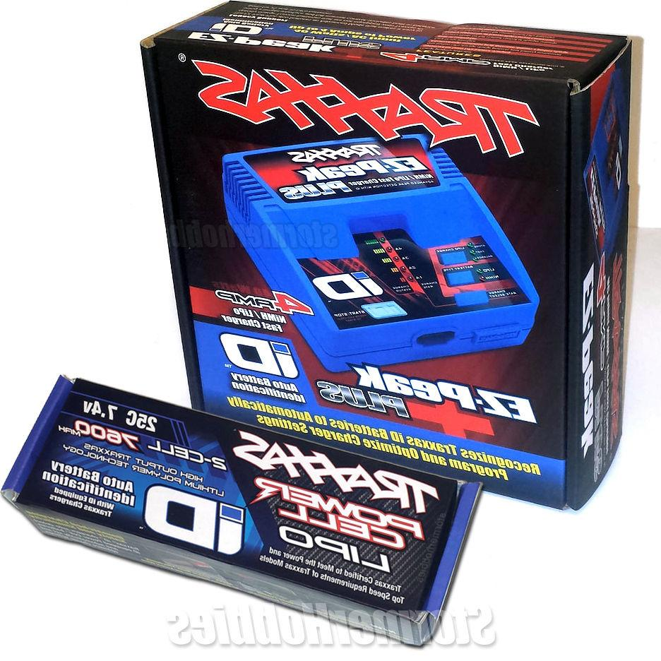 Traxxas EZ-Peak Plus 4-Amp Charger ID Battery