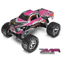 Traxxas Tra36054-1-Pink Pink Edition Stampede 1/10 Monster T