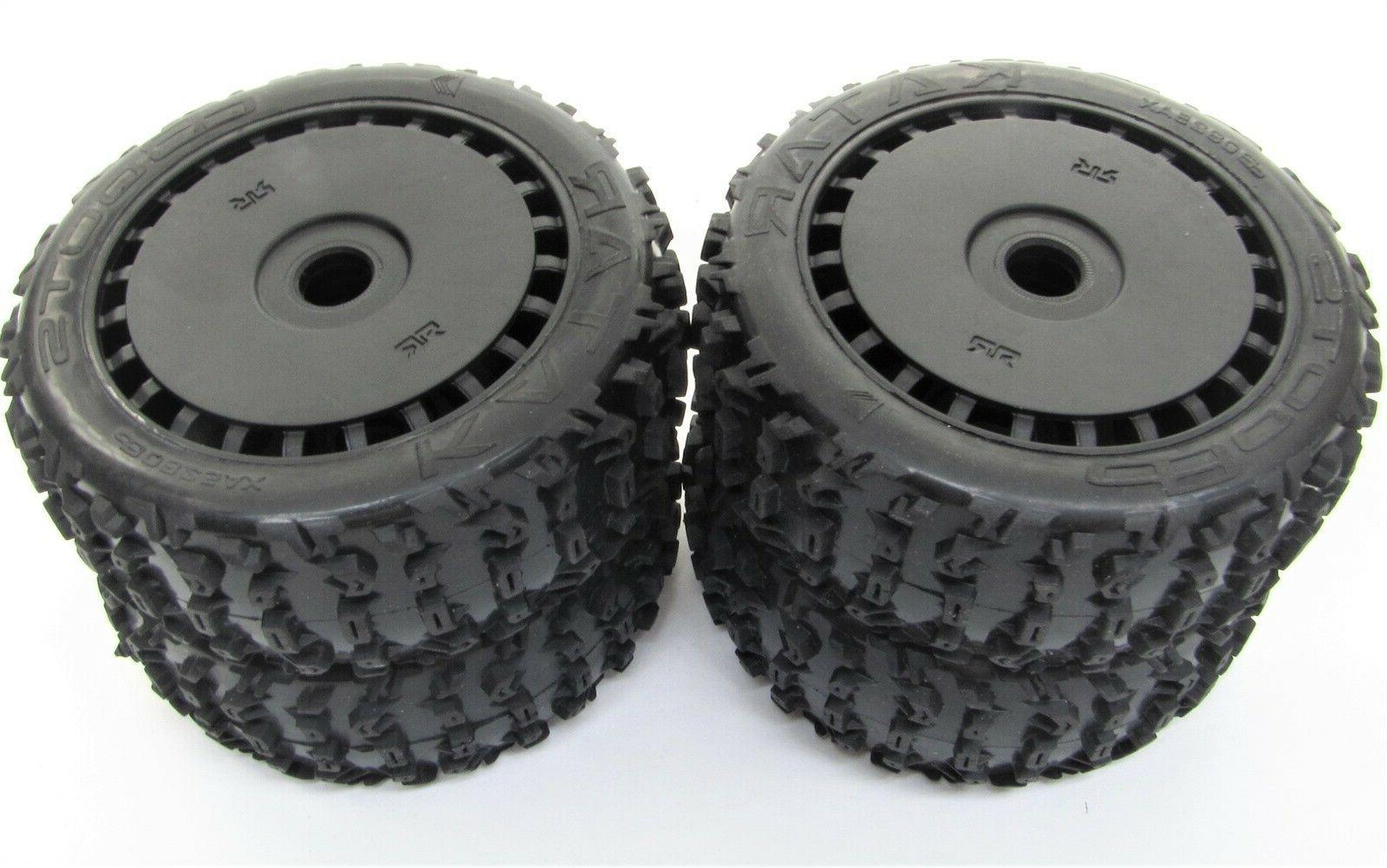 Arrma TYPHON 6s BLX - TIRES & Wheels (tyres rims DBoots Exab