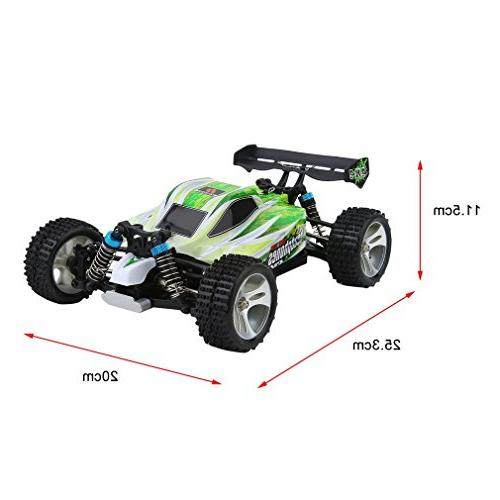Blackpoolfa High Speed 43.5mph Buggy Off Road RC | Almost 4WD Racing Cars & Charger