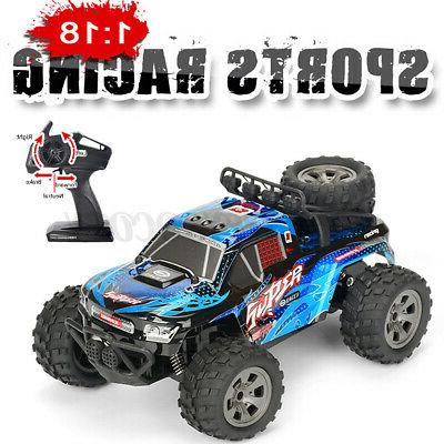 US 1:18 Scale RC Car Truck 2.4G 4WD Off Remote