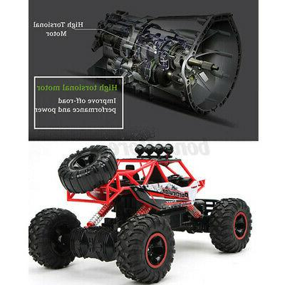 US 37CM RC Car Vehicle Electric Monster Toys