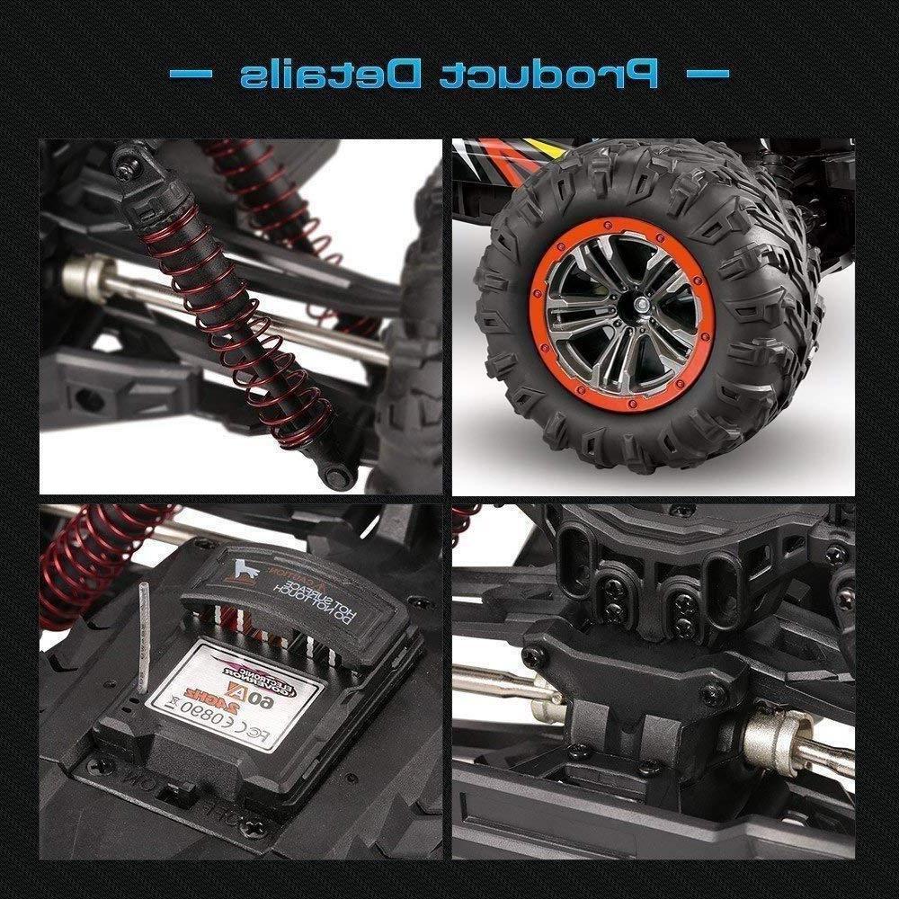 9125 Monster Car 1:10 4WD 2.4Ghz Off-road Remote Car US